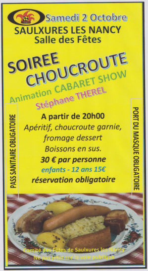 Choucroute soiree