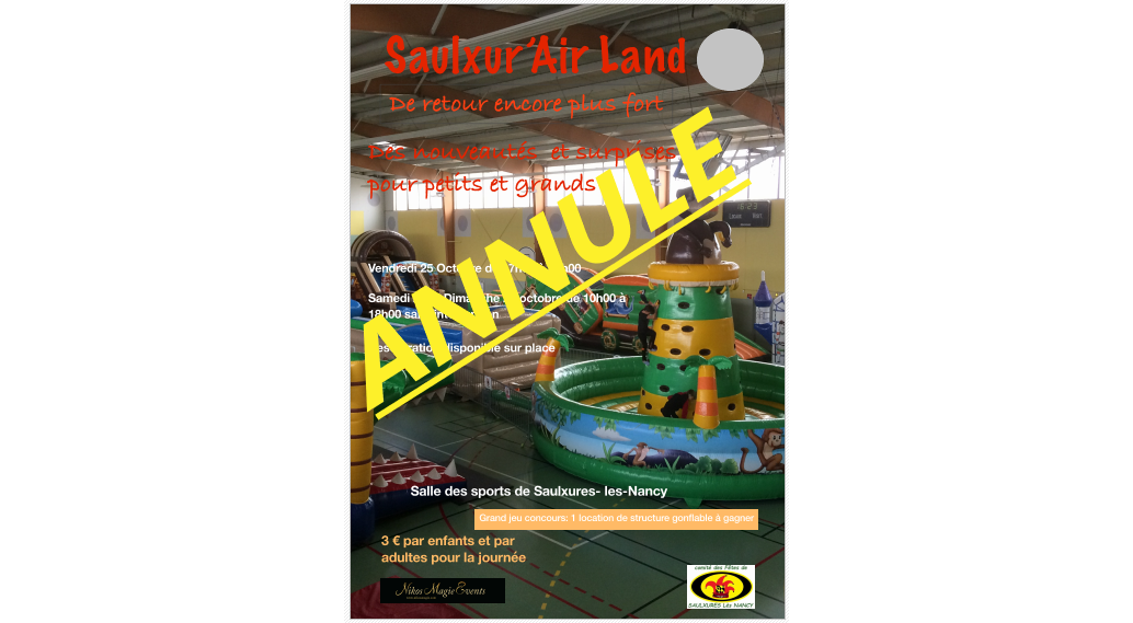 Saulxur air land annule